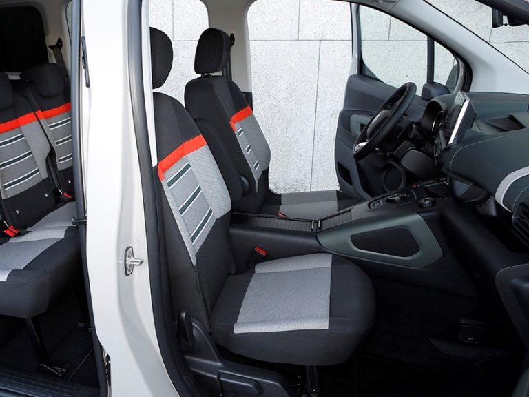 Plazas delanteras Citroen Berlingo talla XL 2019