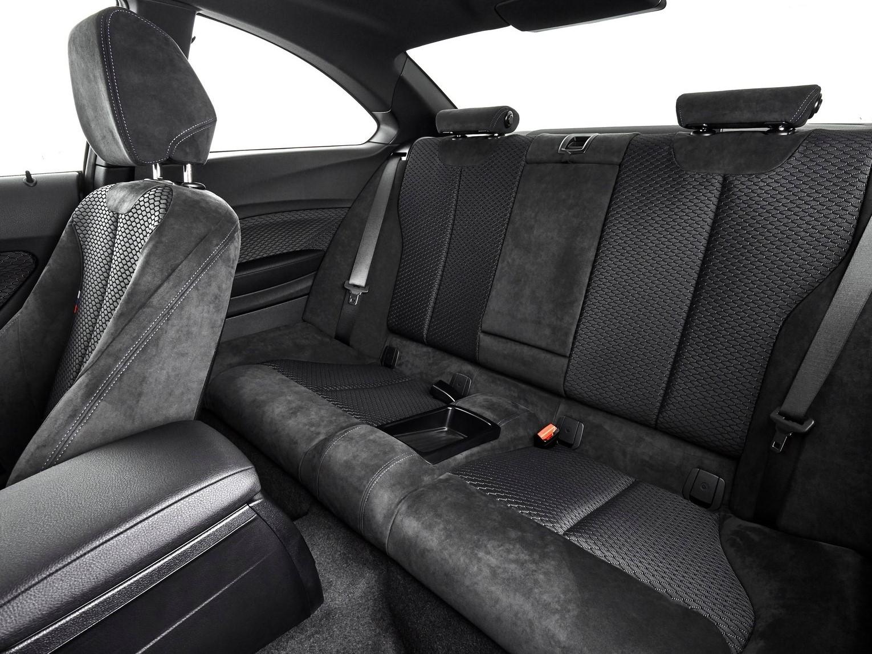 Plazas traseras BMW serie 2 coupé 2017