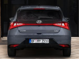 Trasera Hyundai i20 (2020)