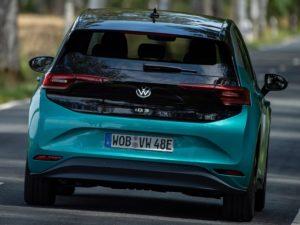 Volkswagen ID.3 por detras