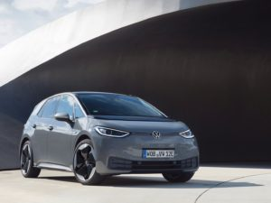 Volkswagen ID.3 primera edicion de color gris