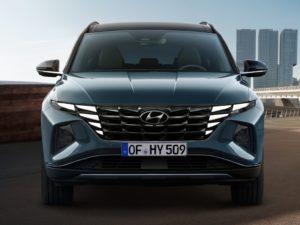 Hyundai Tucson 2021 vista frontal