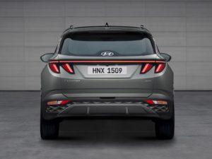 Hyundai Tucson 2021 vista trasera