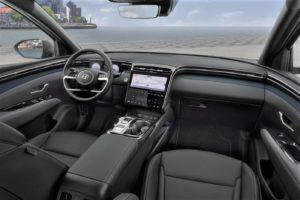 Interior Hyundai Tucson 2021