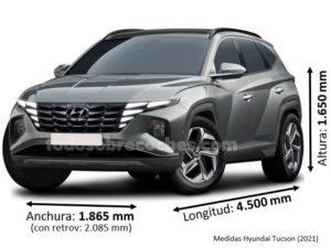 Medidas Hyundai Tucson 2021